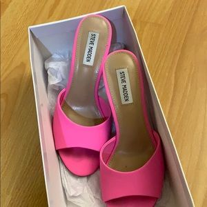 Steve Madden Shoes - Hot pink heels